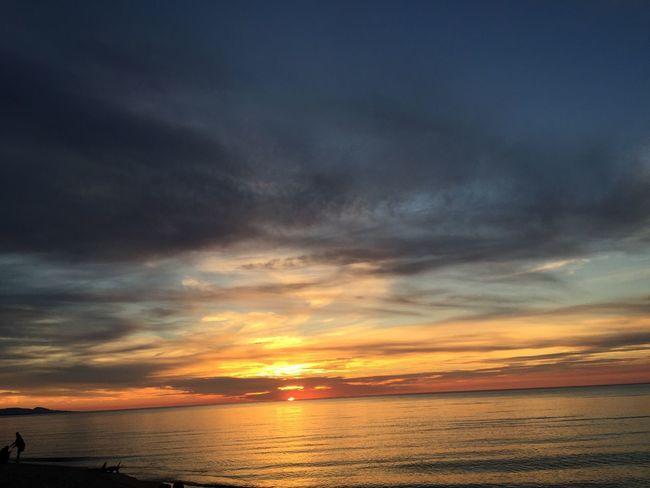 Beautiful Sunset Beautiful End Of The Day Sunset Naturesbeauty Lakesuperior Michigan Beauty
