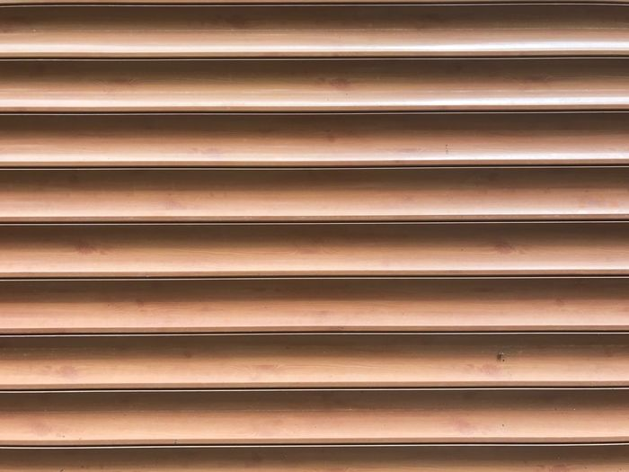 In A Row Backgrounds Pattern Repetition Full Frame Indoors  No People Blinds Day Corrugated Iron Close-up