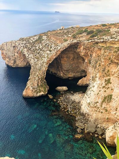 Malta landscape Summer Mountains Rock Malta Nature Water Mer Landscape Malte Sea My Best Travel Photo
