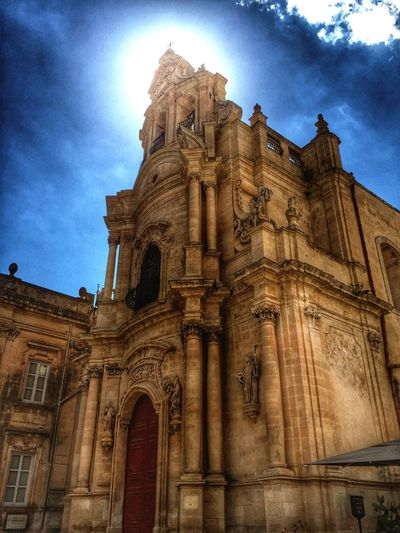 Ragusa Ibla Church Cathedral Cloud - Sky First Eyeem Photo