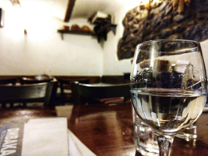 A glass of Rakia can make your evening! Rakia Sofia, Bulgaria Local Architecture Glass