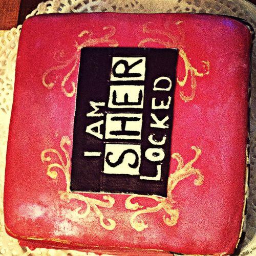 Шерлок Sherlock Sherlocked Cake ?❤️❤️