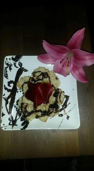 Chocolate Coconut Macaroons Dessert Homemade Flower Grannys Sweet Treats Mechi Renee Petal Vegan Desserts