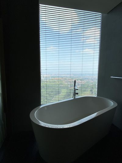 Scenic view of bathroom at home