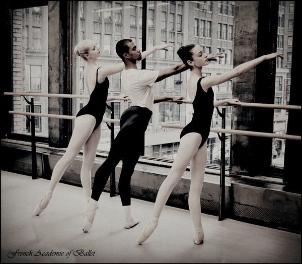 Students of the French Academie of Ballet Ballet Dancer Dancers Newyork Dance Class