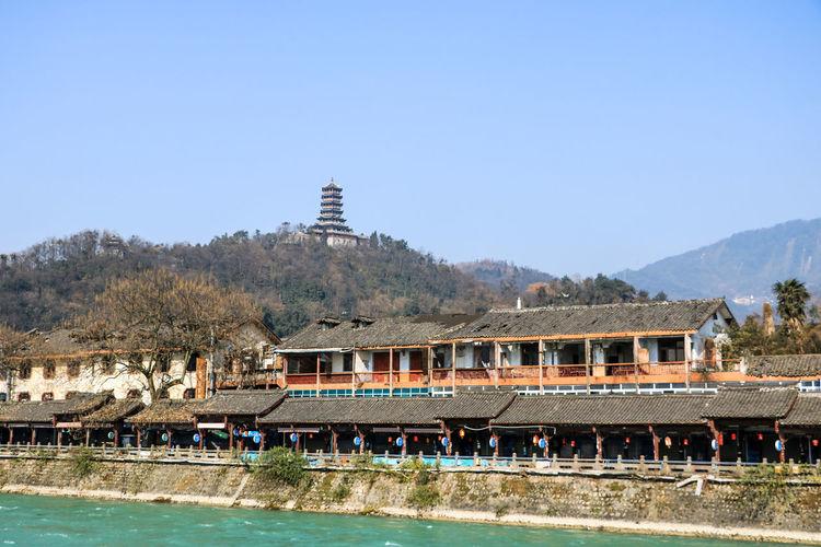 都江堰 Cityscape