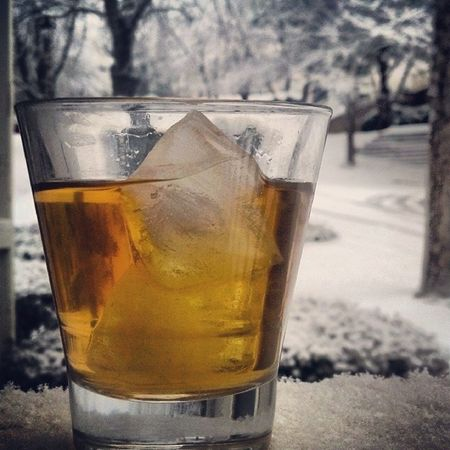 This was actually how I started my morning off before heading to work... A good Pickmeup for this kind of day. EvanWilliams Honeywhiskey