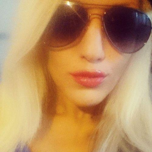 Platinum Blondenation BLACKSHADES Redlips Mua Lastdayofashortweirdweek Cantwaittostopwork