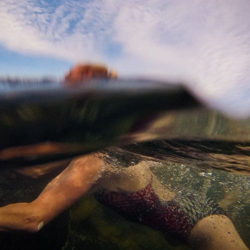 "Swimming in Stonehurst , Novascotia . The water temperature was somewhere between ""Holy crap it's cold!"" and ""IT'S F*CKING FREEZING!"". Belowthesurface gopro visitnovascotia igersottawa"