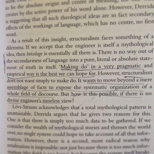 Derrida Death of Structuralism Makingdo