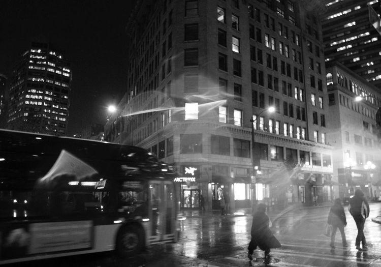 First Eyeem Photo Blusterynight Blustery Seattle Rainyandcold Bundle Up