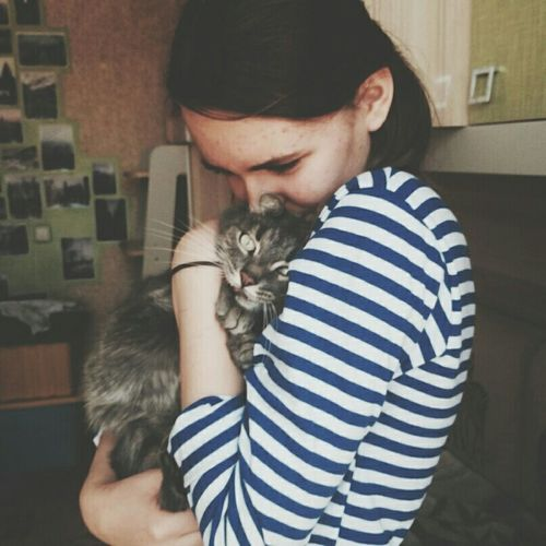 Podolsk Home Vintage Relaxing Cuties Love Cat Nice Good Times Russian My pretty cat
