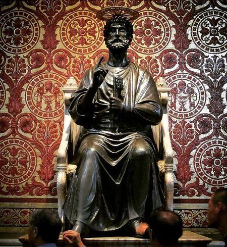 Stpeter Vatican Italy Rome Travel Traveler Traveling
