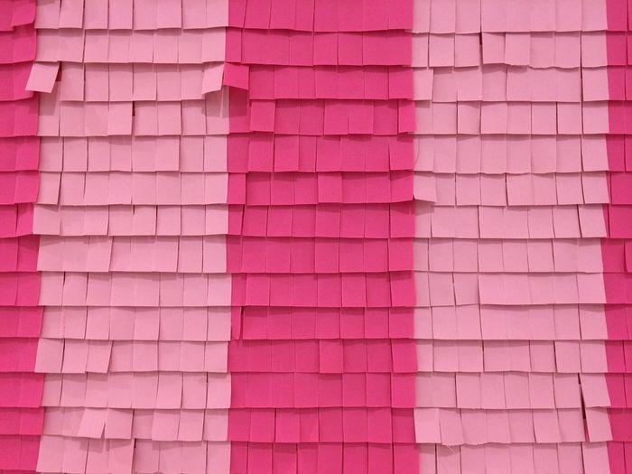 Full frame shot of blank adhesive notes