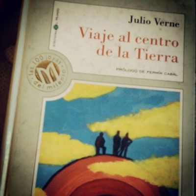 JulioVerne Viajealcentrodelatierra Cool Beautiful habuabau gafada book genial lectura leer me encanta este libro *-*