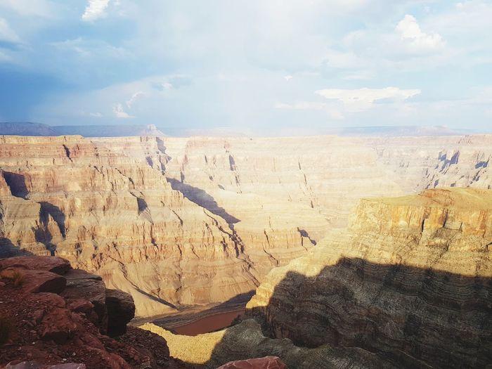 Roadtrip Grand Canyon Sand Dune Desert Sky Landscape Cloud - Sky Rocky Mountains Rock Formation Extreme Terrain Canyon