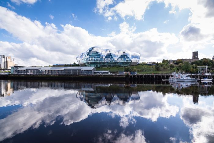 The sage gateshead Reflection Sky Cloud - Sky Built Structure Architecture Building Exterior Water Day Waterfront Outdoors Nature No People City NORTHEASTENGLAND Nikon EyeEm Gallery EyeEm Best Shots Nikonphotographer Newcastle Thesage EyeEmBestPics Modern Home Is Where The Art Is Glass Nikon D750