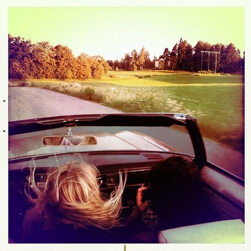 På väg Delsbo Oldsmobile Swedishsummer
