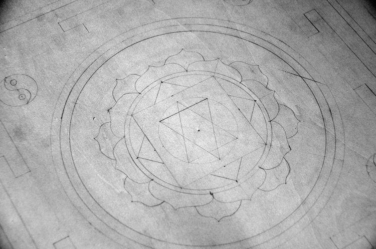 Black & White Black And White Black And White Photography Black&white Blackandwhite Blackandwhite Photography Circle Geometric Shape Mandala Mandala Art No People