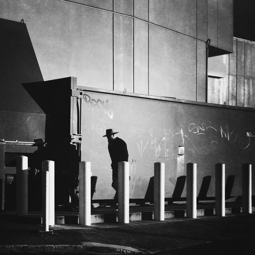 Built Structure Architecture Real People Men Building Exterior One Person Full Length The Street Photographer - 2018 EyeEm Awards