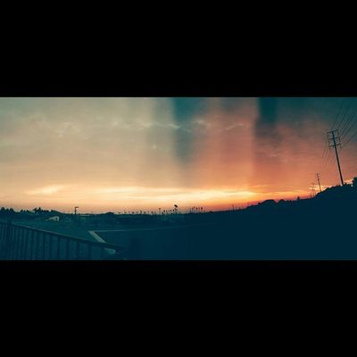 Throwback to the best and weirdest Sunset photo my Galaxynexus  has ever taken in Upland