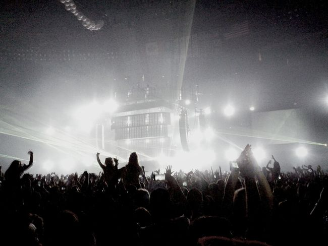 Concert Lights Swedish House Mafia