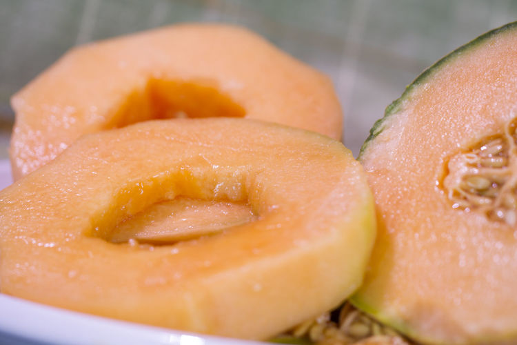 Cantaloup Close-up Day Food Food And Drink Freshness Fruit Healthy Eating Indoors  Melon No People Ready-to-eat Sweet Food