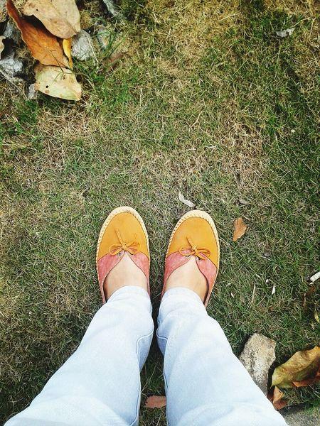 walk by faith, not by sight! Enjoying Life Walk Shoes Nature Batam-Indonesia