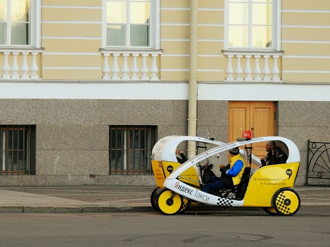 Always Be Cozy Taxi Riksha Architecture Day Drivers Street Colors Palace Square Fifty Shades Of Yellow Sankt-Petersburg Russia