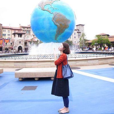 Around the world Tokyo Yuna穿搭 Around World