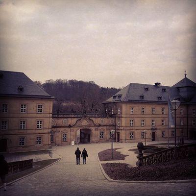A gloomy day at Banz Abbey Monastery Whereschesa
