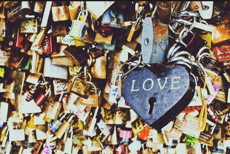 Love ♥ Pont Des Arts Forever