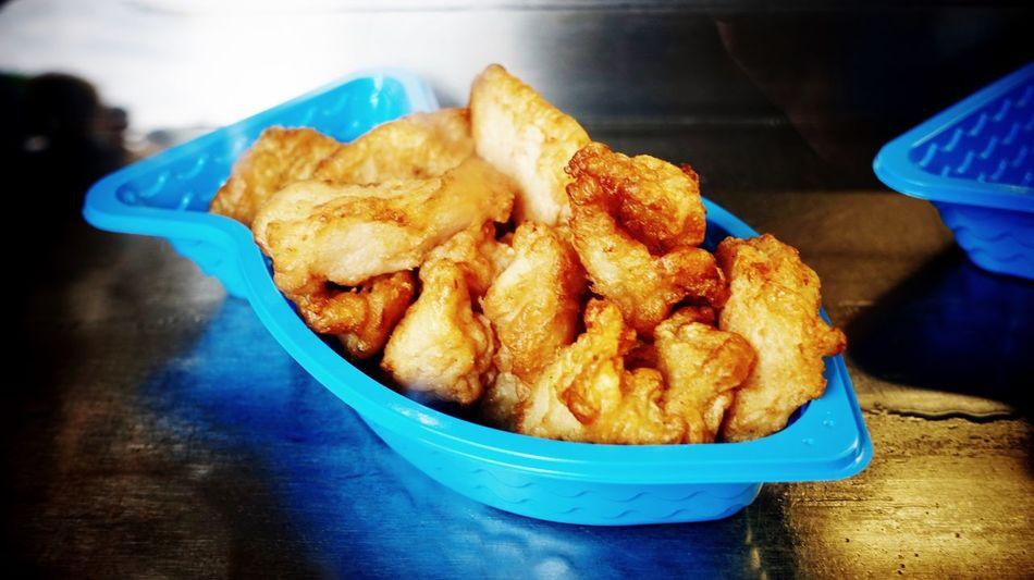 Kibbeling Fried fish pieces at the market Kibbeling Fish Seafood Friedfish COD Battered Cod Food