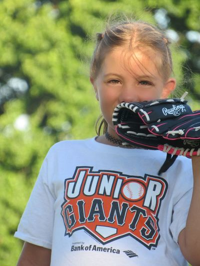 It's all in those eyes! Joy Graditude Child One Girl Only Outdoors Nature One Person Baseball Lifebehindtheplate Diamonds Are A Girl's Best Friend MyGIRL Throughmyeyes Takeawalkwithme Childhood Hammerheads Pals 1st Baseball Practice Girls Children Only