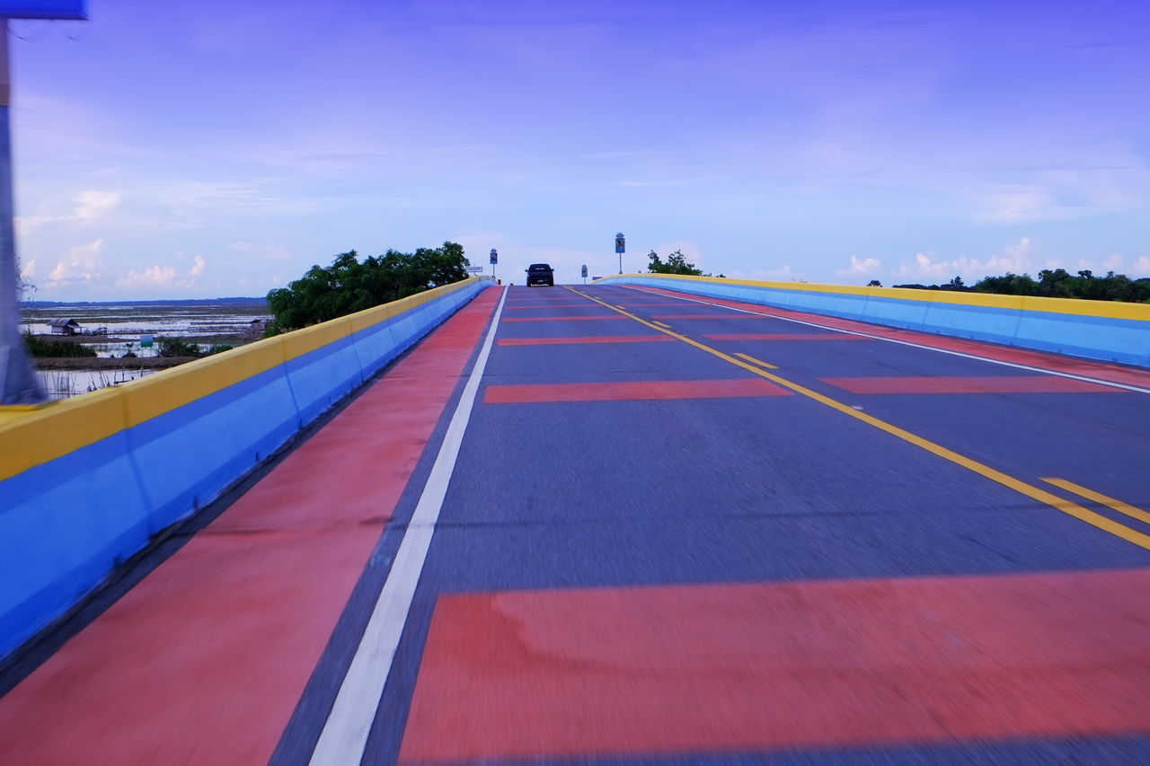 ROAD LEADING TO BLUE SKY