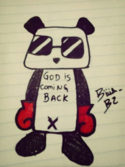 God is coming back..
