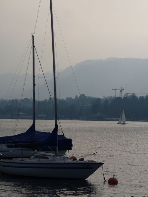 Boat Boats⛵️ Lake Sailboat Zürisee Zürich Switzerland Tranquility Outdoors EyeEmNewHere