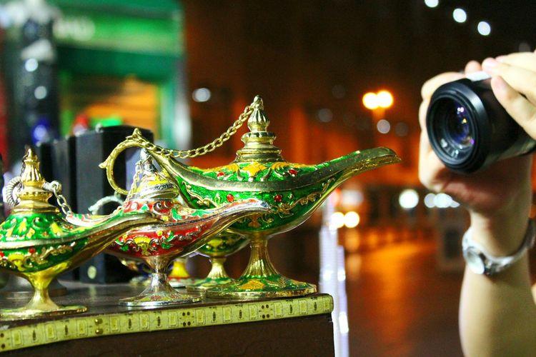 Perspectives. Dubai Dubai, UAE Arabic Art Aladdin Magical Mantle Lamp Magical Lamps Lamp Middle East Dubaï Souk Midnight Market Souk