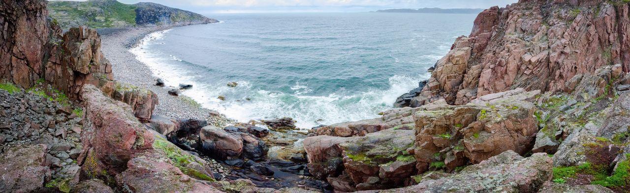 Teriberka. Murmansk region. Russia Sea Beauty In Nature Nature Coastline Water Wide Angle Russia Teriberka Barents Sea First Eyeem Photo