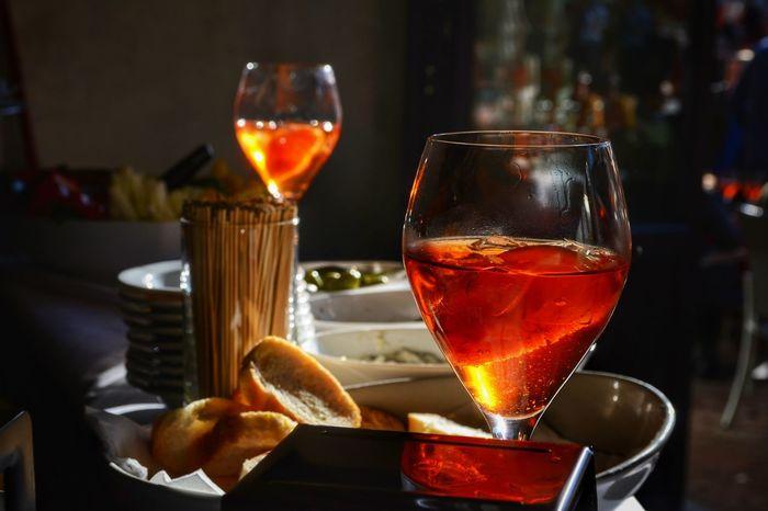 The Week On EyeEm Aperol Spritz in Verona. Food And Drink Freshness Cocktail Drink Spritzaperol Aperitivo  Photography Indoors