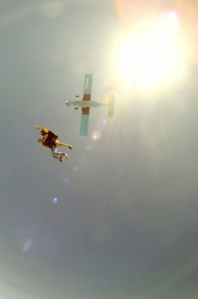 Popular Photos Italia Sky And Clouds Gopro Skydiving Paracadutismo Sky Airplane GoPro Hero3+ Peoplephotography