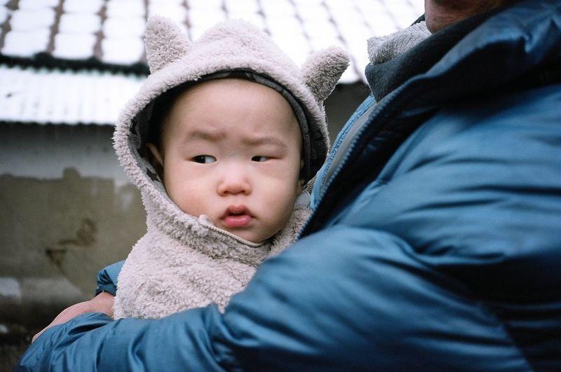 The Portraitist - 2014 EyeEm Awards Kodak Portra 35mm Film Film South Korea Baby Portrait