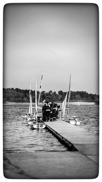 On The Jetty... Sailing Yachting Water Lakeside Equality Sailability Surrey Frensham Pond Sailing Club Frensham Uk