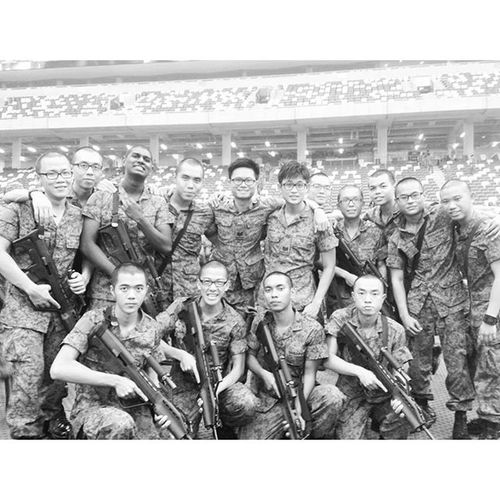 Every story has an ending. But in life every ending is just a new beginning. Platoon 1 section 1 the best bros I have in my 4 months of training. POP lo!