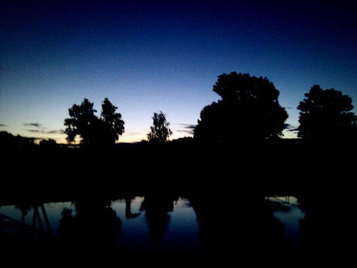 Morgenstimmung Lilawolken
