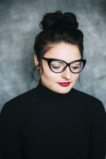 50mm Beauty Canon 6D Lips Make-up Makeup People Portrait Portraiture Studio Studio Photography Studio Shot Woman
