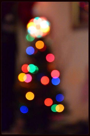 Christmas Merry Christmas! Christmas Lights Bokeh