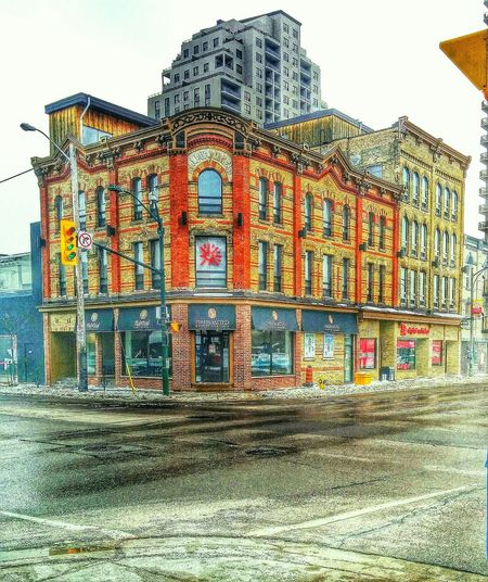Coffee Shop London Ontario Downtown Downtown London Ontario Intersection Coffeshop Taking Photos The Places I've Been Today HDR Hdrphotography