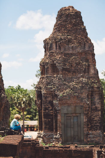 Siem Reap Cambodia Angkor Architecture Built Structure Travel Building Exterior Travel Destinations Religion Belief Place Of Worship Tourism History Building Day Ancient The Past Real People Sky Spirituality Nature Lifestyles Outdoors Ancient Civilization