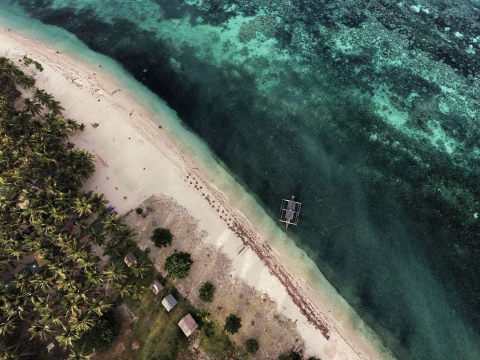 TakeoverContrast High Angle View Water Vacations Beach Tourism Travel Aerial View Scenics Tranquil Scene Sea Tranquility Coastline Nature Shore Travel Island Whitesand Aerial Shot Boat Enjoyment Eyeem Philippines Lost In The Landscape